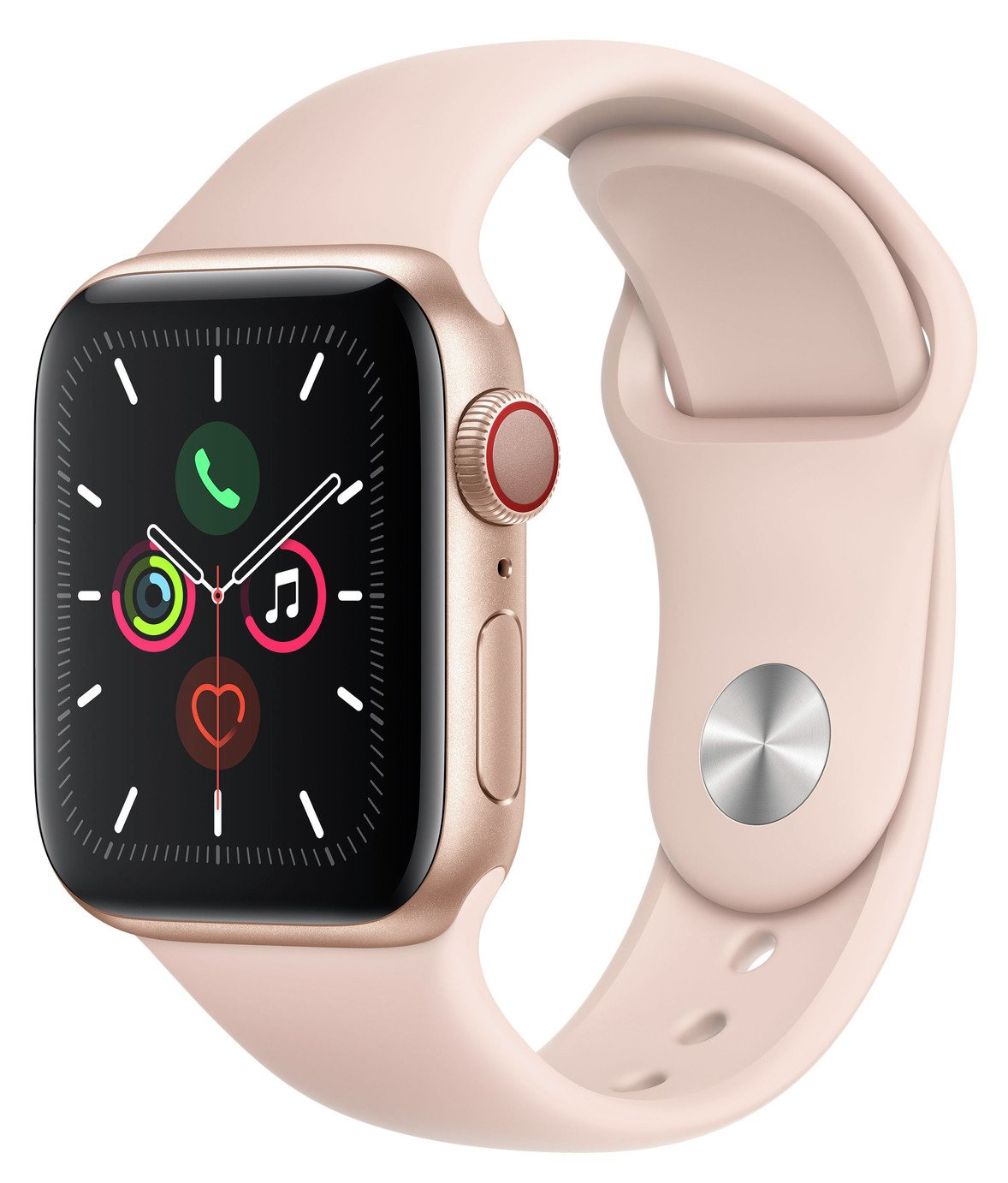 Apple Watch S5 Cellular 40mm Gold Alu/ Pink Band