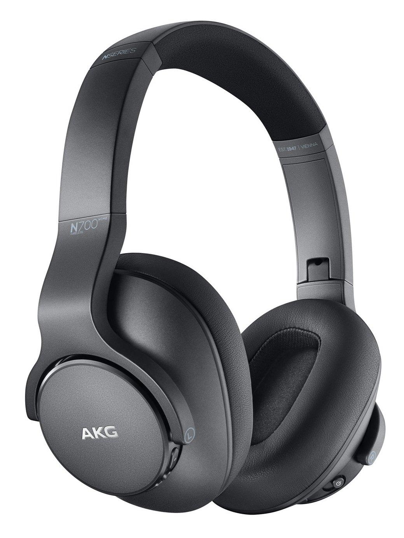 AKG N700 Over-Ear Wireless Headphones - Silver