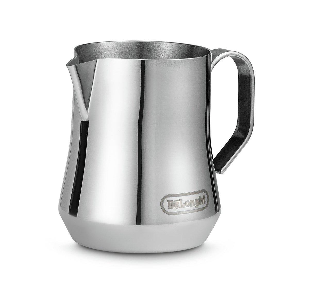 De'Longhi 350ml Milk Jug - Brushed Stainless Steel