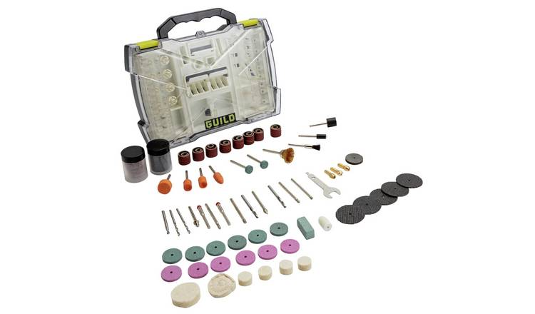 Guild 145 Piece Rotary Tool Accessory Set