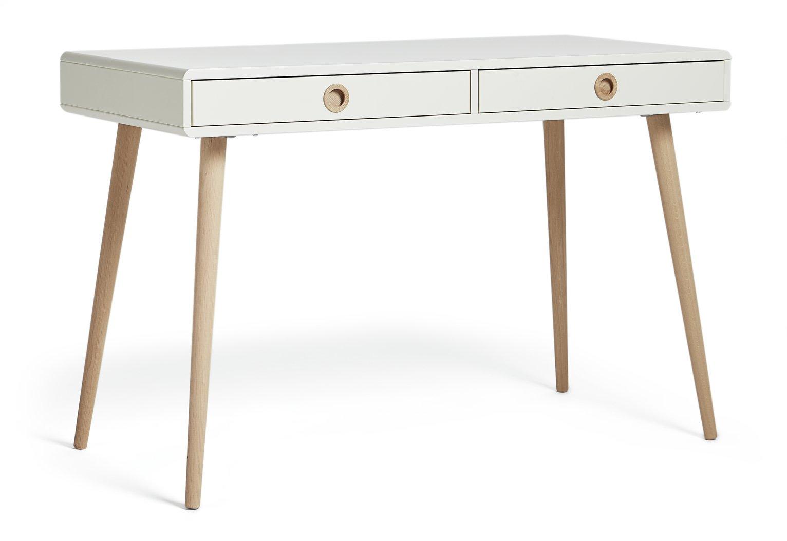 Softline Dressing Table Desk - White