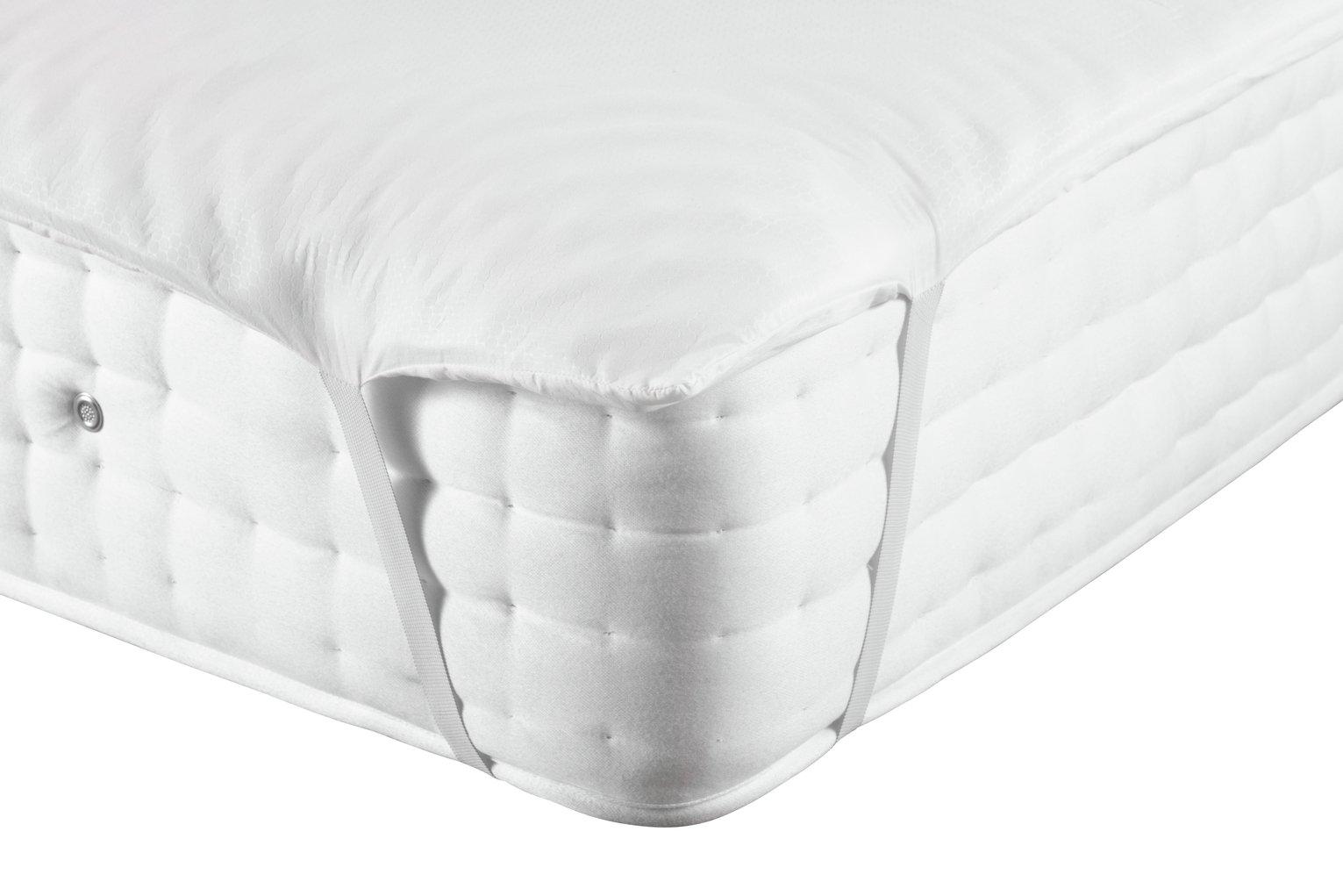 Argos Home Anti Allergy Memory Foam Mattress Topper - King
