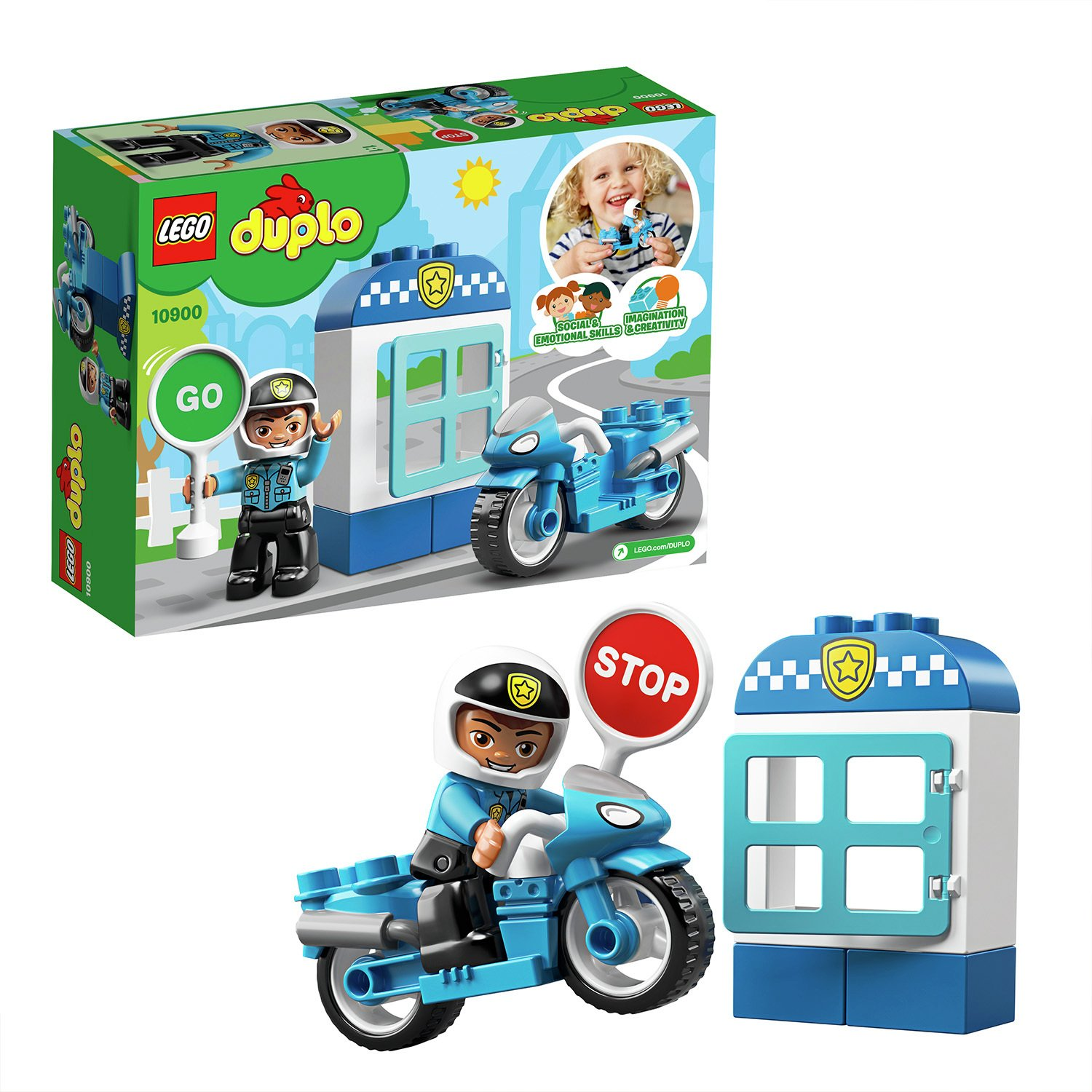 LEGO DUPLO Police Toy Bike - 10900