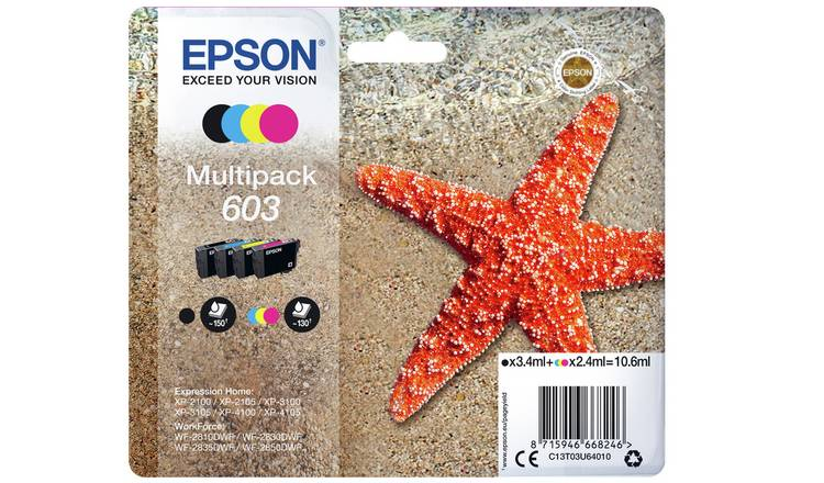 Epson 603 Starfish Ink Cartridge - Black & Colour
