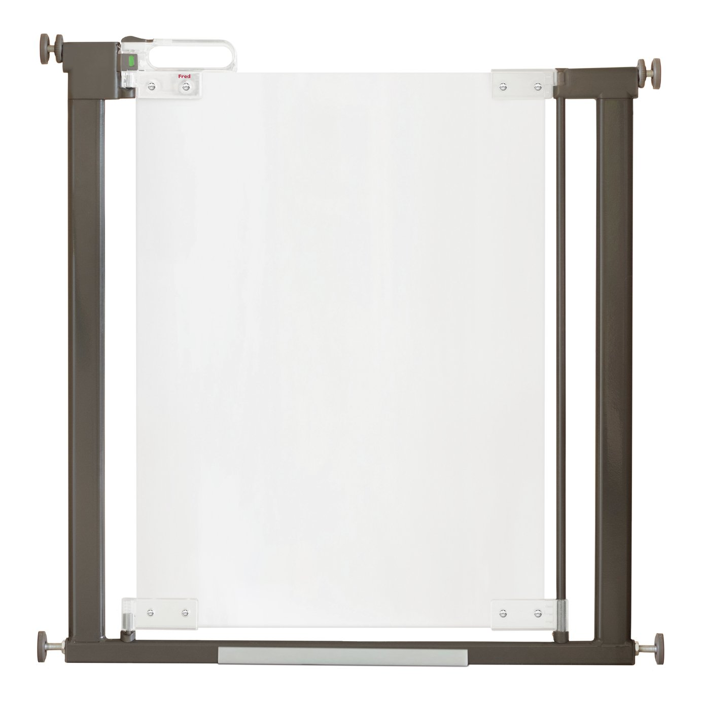 Fred Pressure Fit Clear-View Stairgate