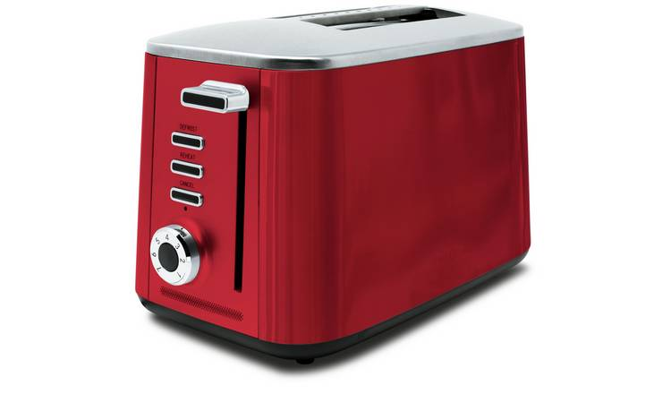 Drew & Cole Rapid 2 Slice Toaster - Red