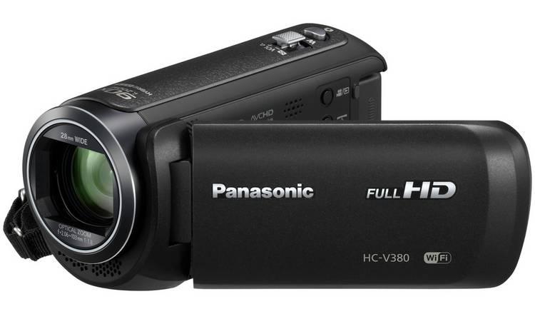 Buy Panasonic V380 Camcorder - Black | Traditional camcorders | Argos