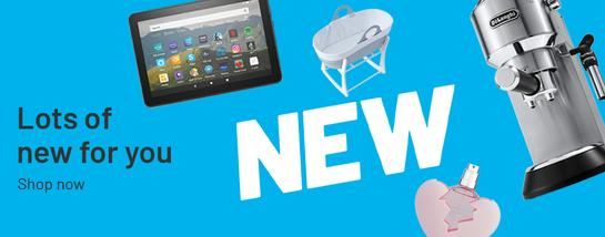 Lots of new for you. Discover what's new.