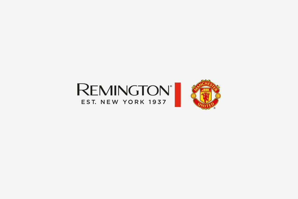 Remington: Official electrical styling partner of Manchester United