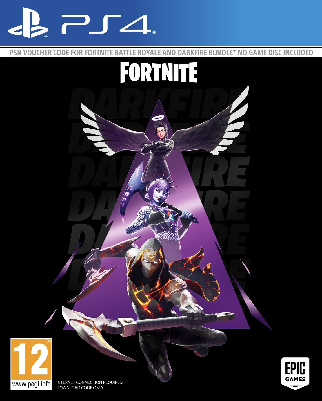 Fortnite Darkfire Bundle 2 PS4 Pre-Order Game