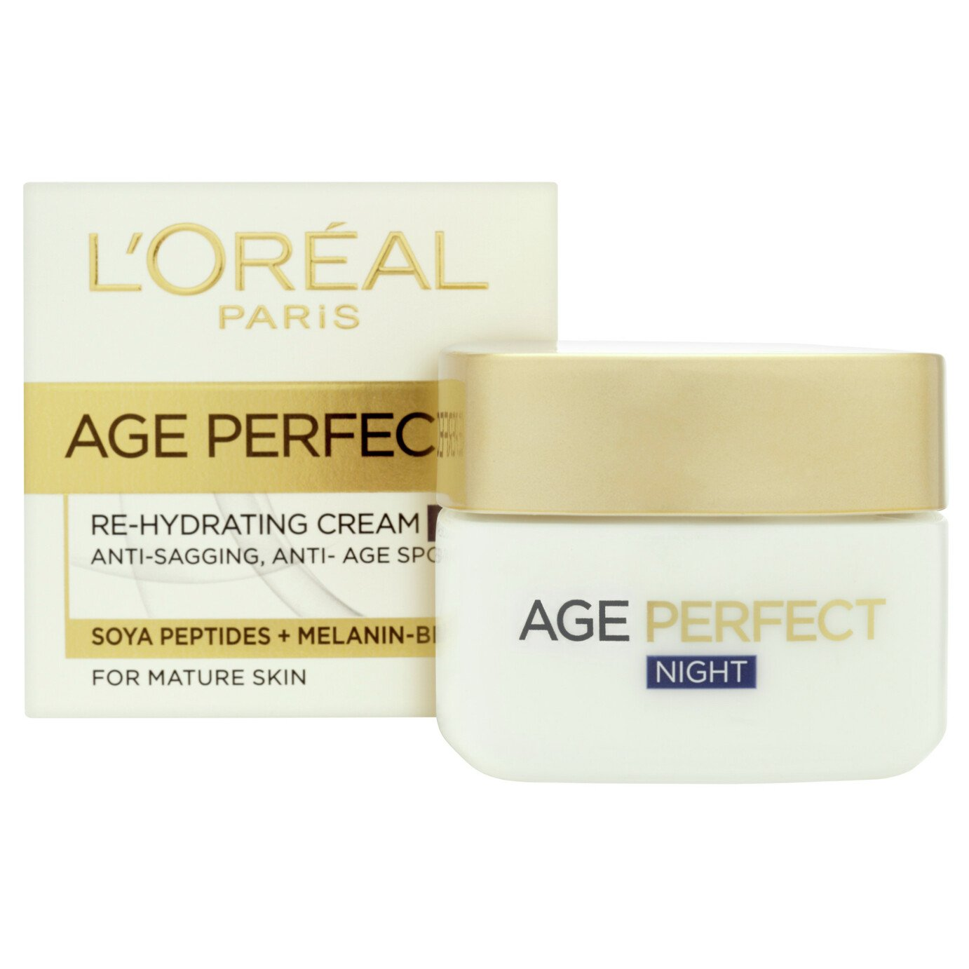 L'Oreal Paris Skin Age Perfect Re-Hydrate Night Cream - 50ml
