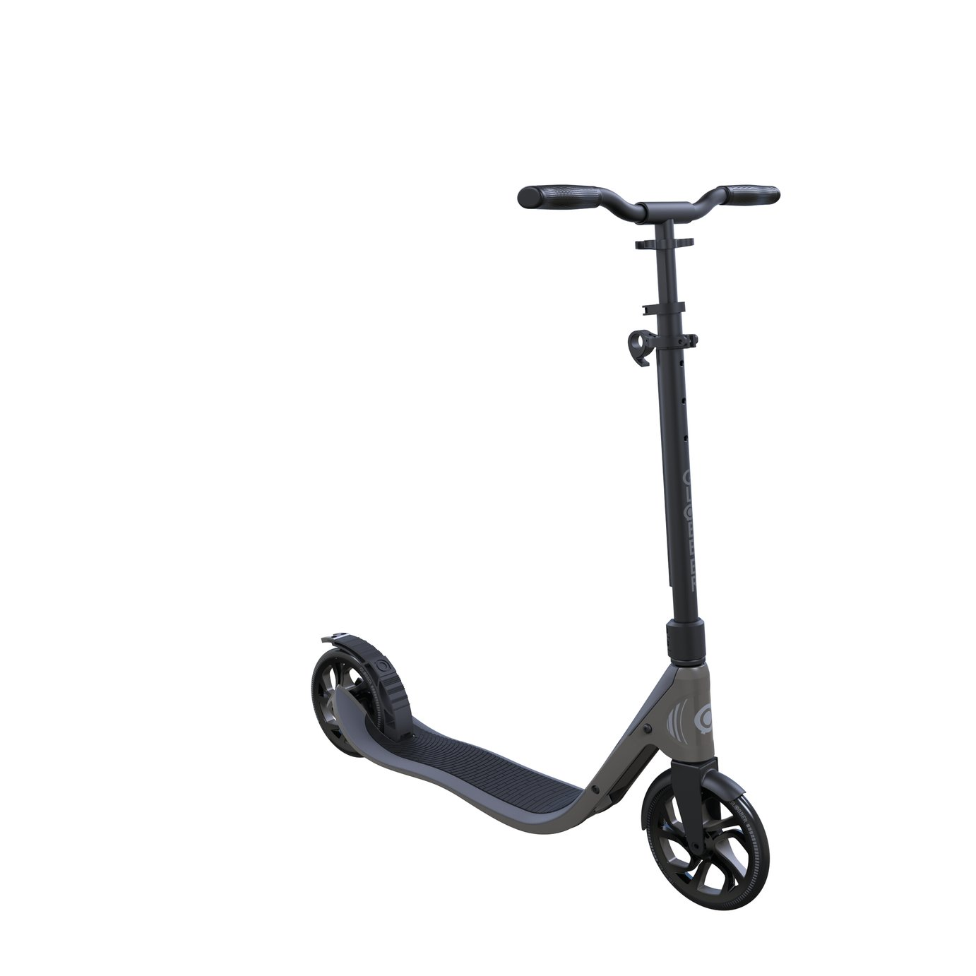 Globber NL 205 Folding Scooter - Black and Grey