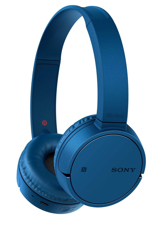 Sony WH-CH500 On-Ear Wireless Headphones - Blue