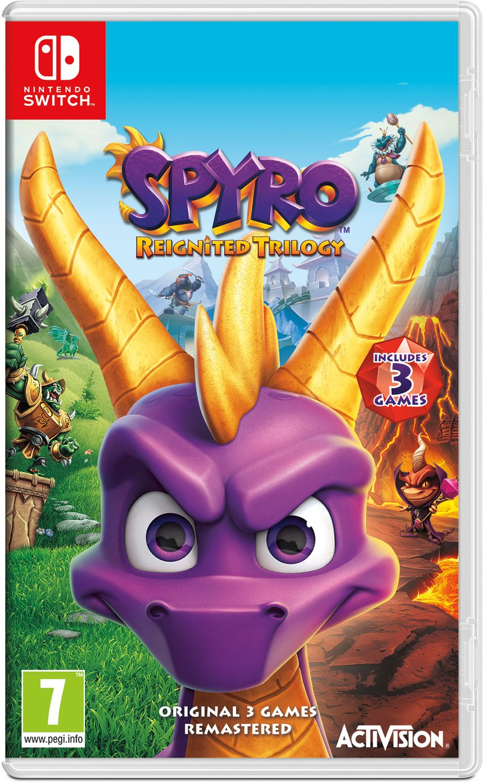 Spyro Reignited Trilogy Nintendo Switch Game