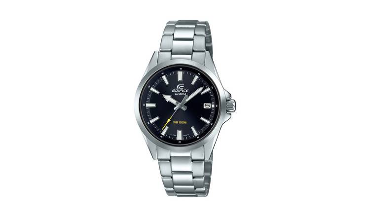 Casio Men's Edifice Silver Stainless Steel Bracelet Watch