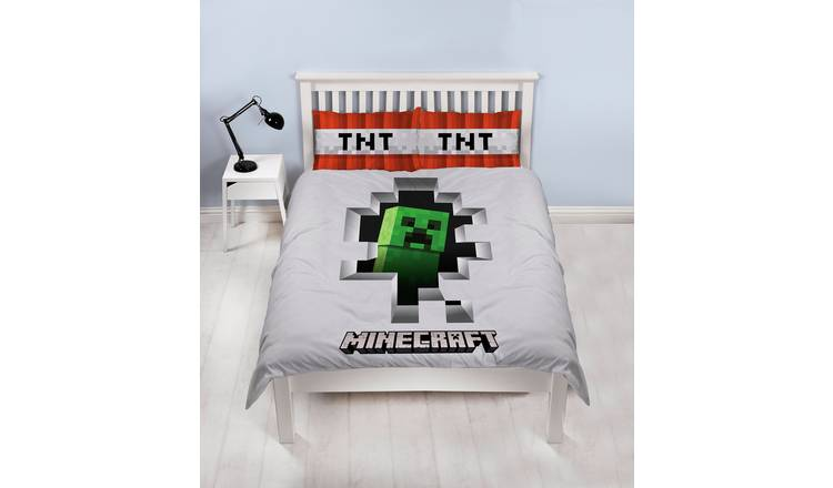 Minecraft Bedding Set - Double