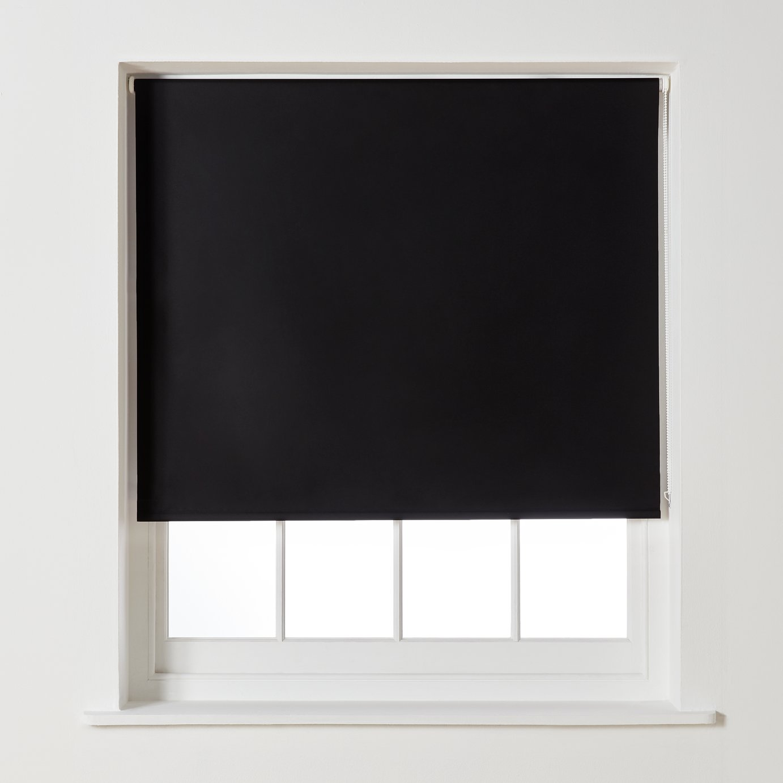 Argos Home Blackout Roller Blind - 6ft - Black