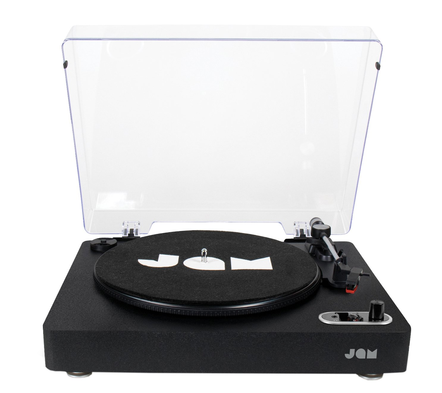 JAM Vinyl Bluetooth Record Player- Black