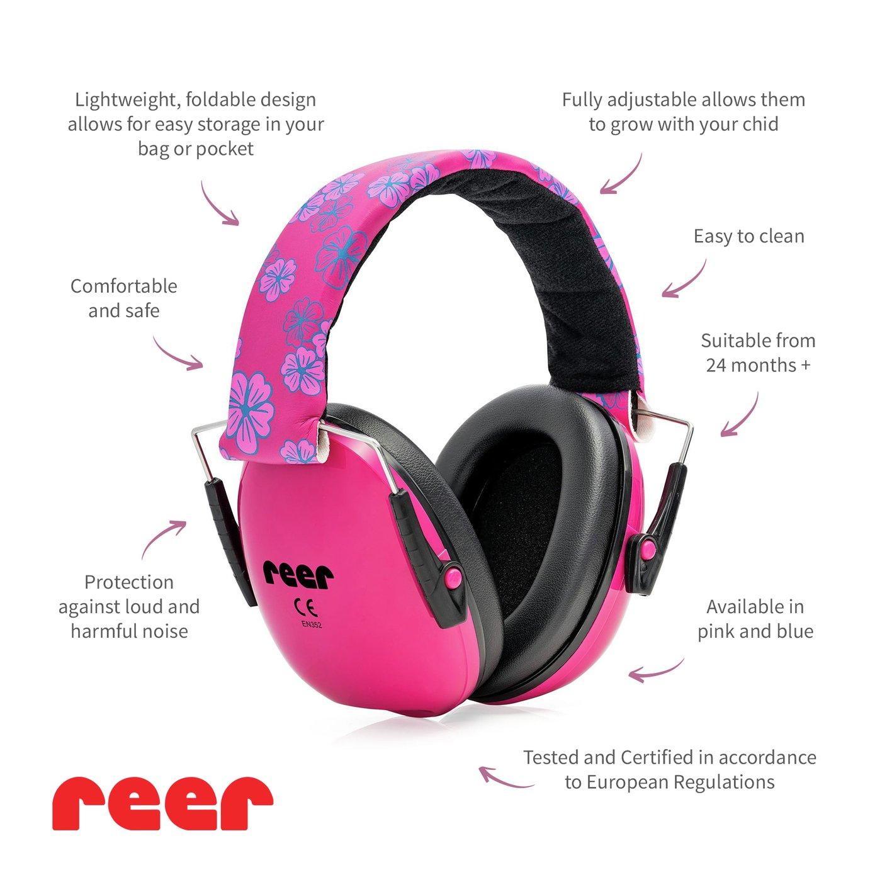 Reer Silentgard Kid Capsule Ear Protector Pink