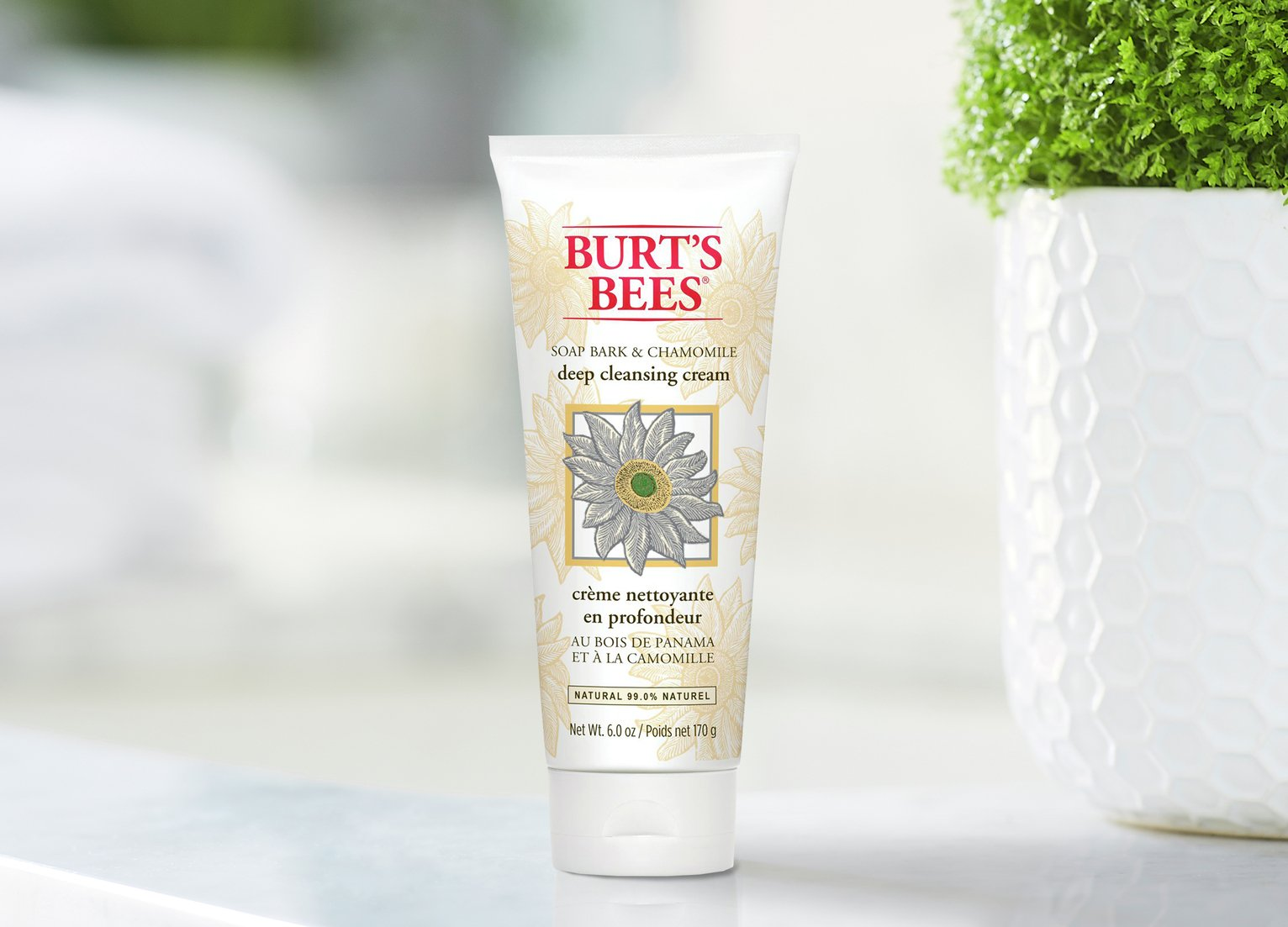 Burt's Bees Willow Chamomile Cleansing Cream - 170g