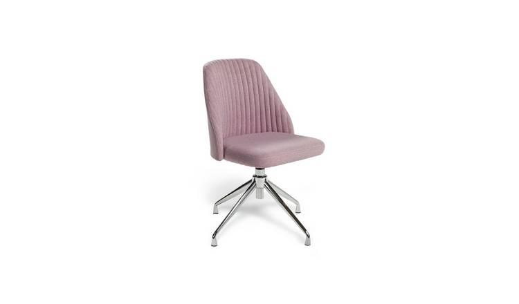 Buy Habitat Nori Fabric Office Chair Pink Office Chairs Argos
