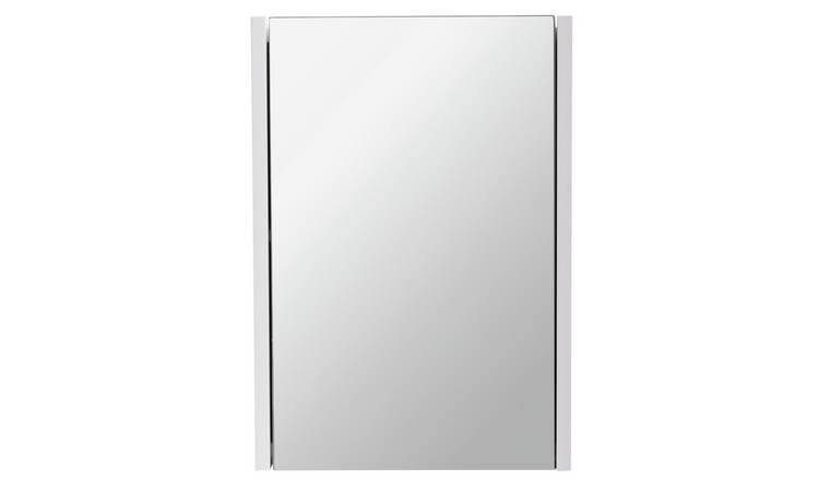 Argos Home 1 Door Mirrored Cabinet