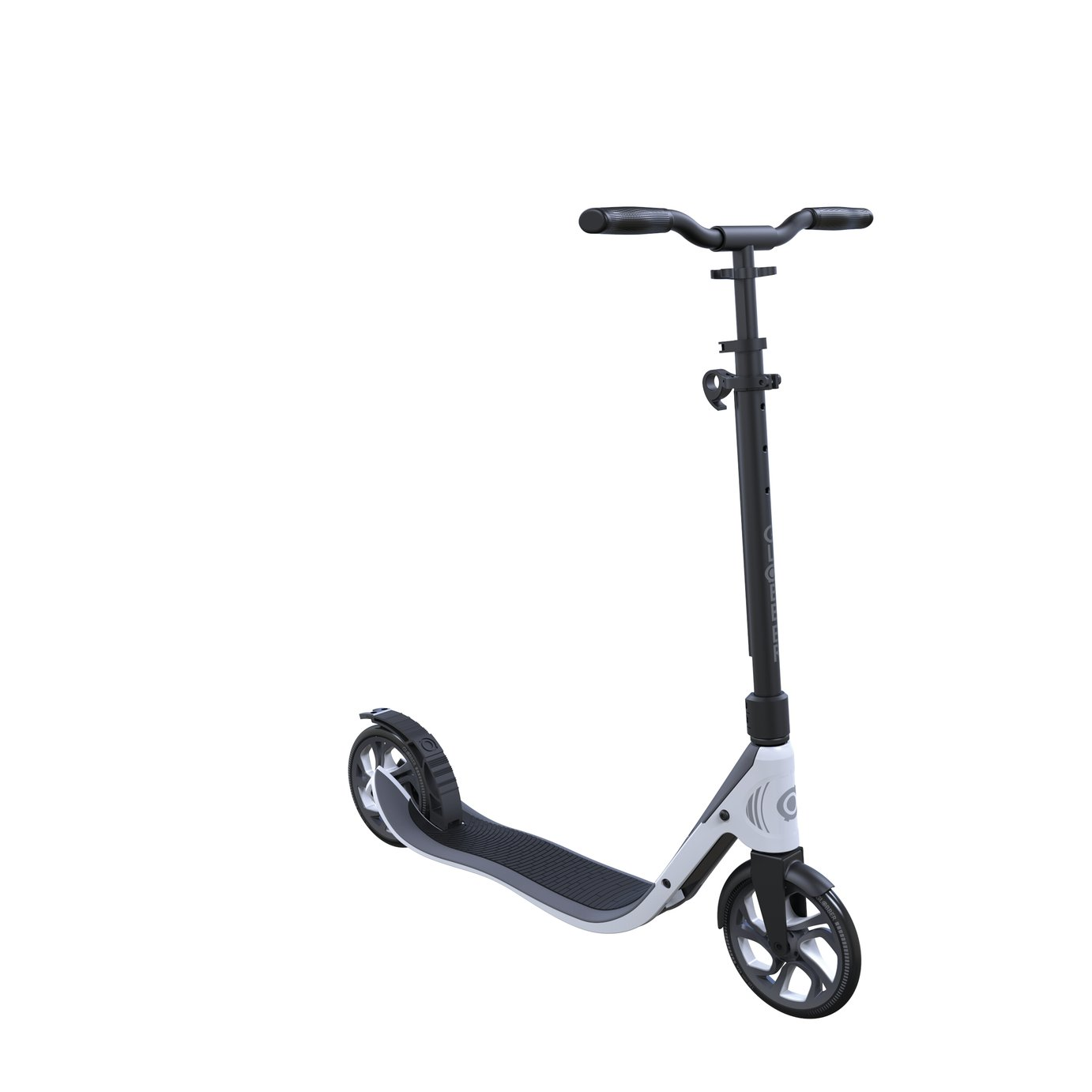Globber One NL 205 Folding Scooter - Black and White