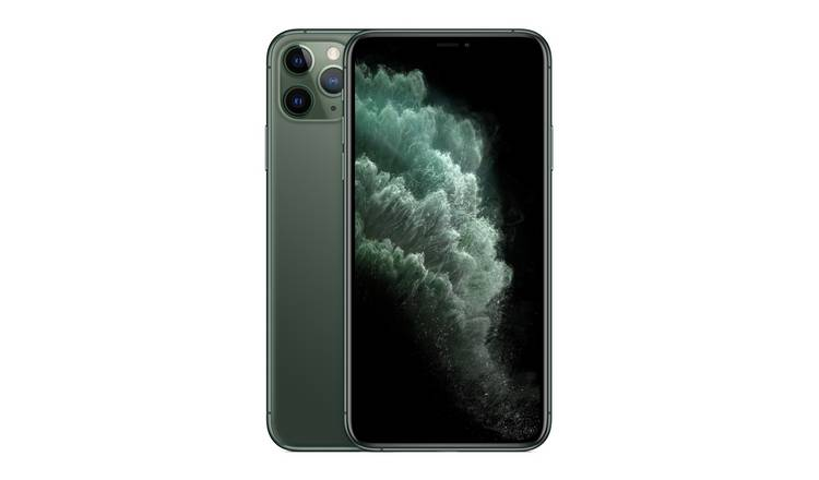 SIM Free iPhone 11 Pro Max 256GB Mobile Phone-Midnight Green