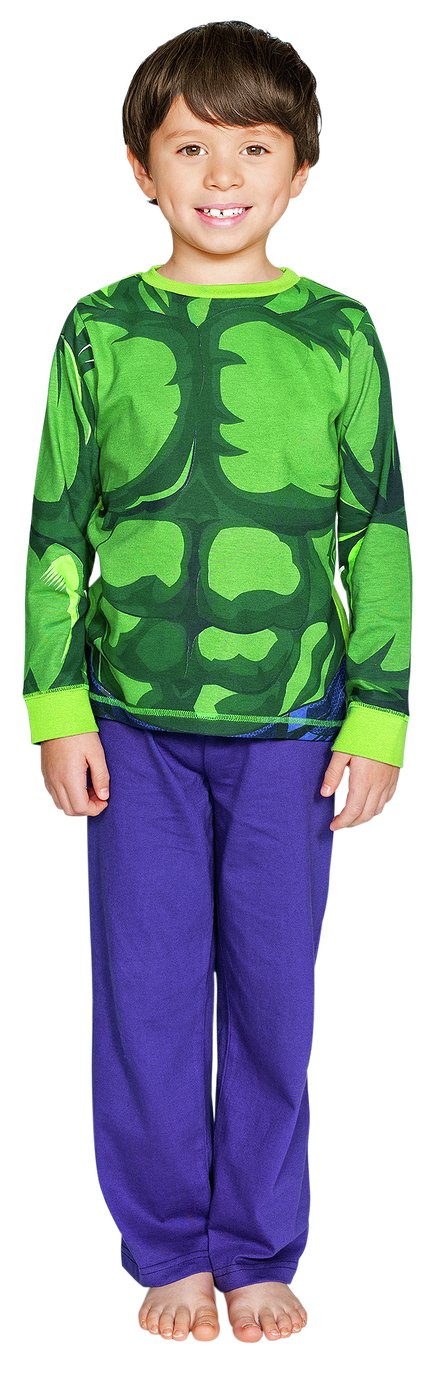 Image of Avengers - Hulk - Pyjama Set - 7-8 Years