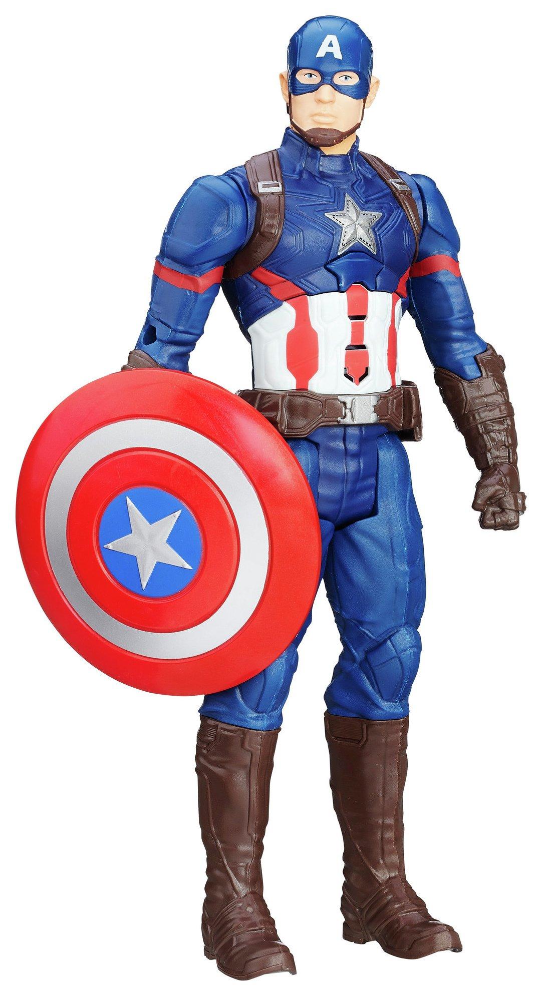 Image of Avengers Age of Ultron Titan Tech Captain America Figure