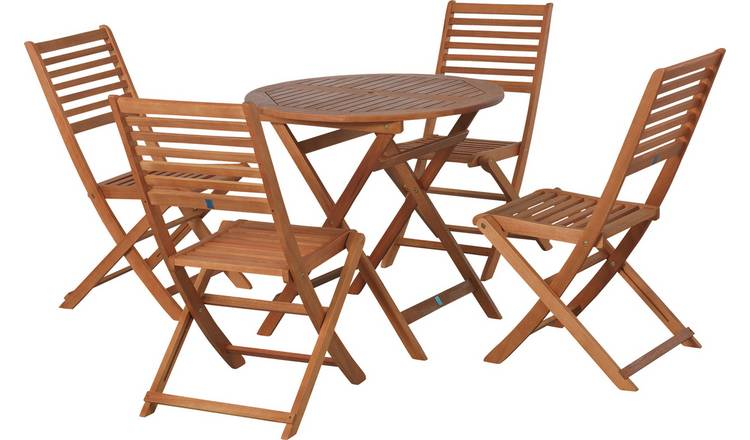 Magnificent Buy Argos Home Newbury 4 Seater Wooden Patio Set Patio Sets Argos Download Free Architecture Designs Sospemadebymaigaardcom