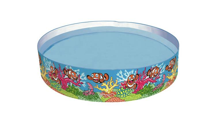 Chad Valley 4ft Ocean Fill 'N' Fun Kids Paddling Pool - 219L