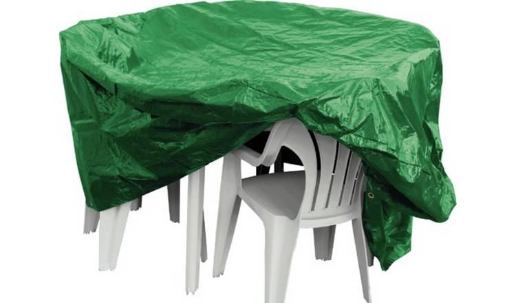 Buy Argos Home Oval Patio Set Cover Garden Furniture