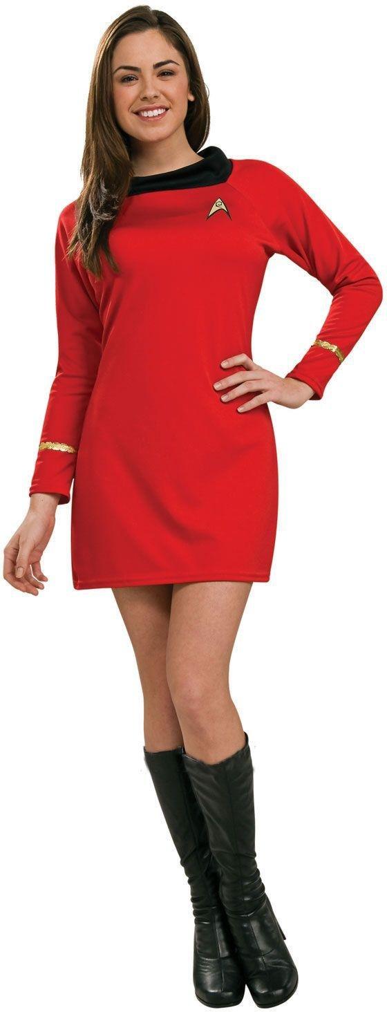 Star Trek Deluxe Uhura Red Dress - Size 8-10.