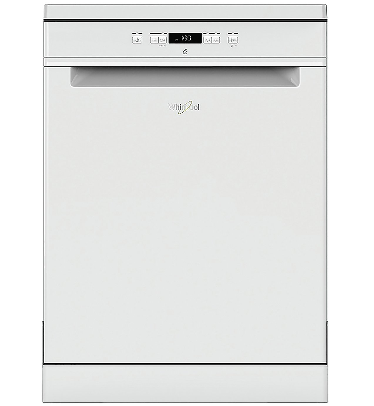 Whirlpool WFC 3B19 UK Full Size Dishwasher - White