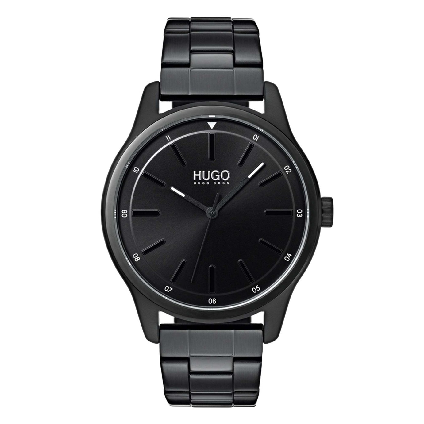 HUGO Men's Dare Black Bracelet Watch
