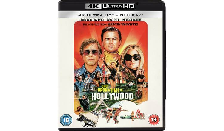 Once Upon a Time in... Hollywood 4K UHD Blu-ray