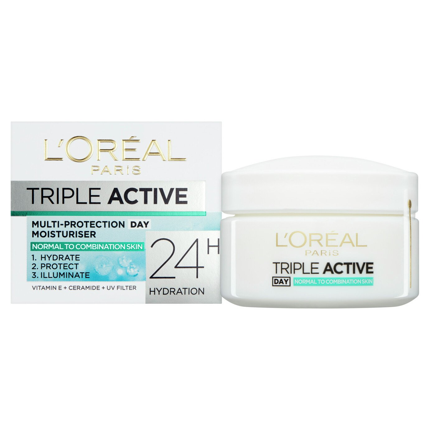 L'Oreal Paris Triple Active Day Moisturiser - 50ml