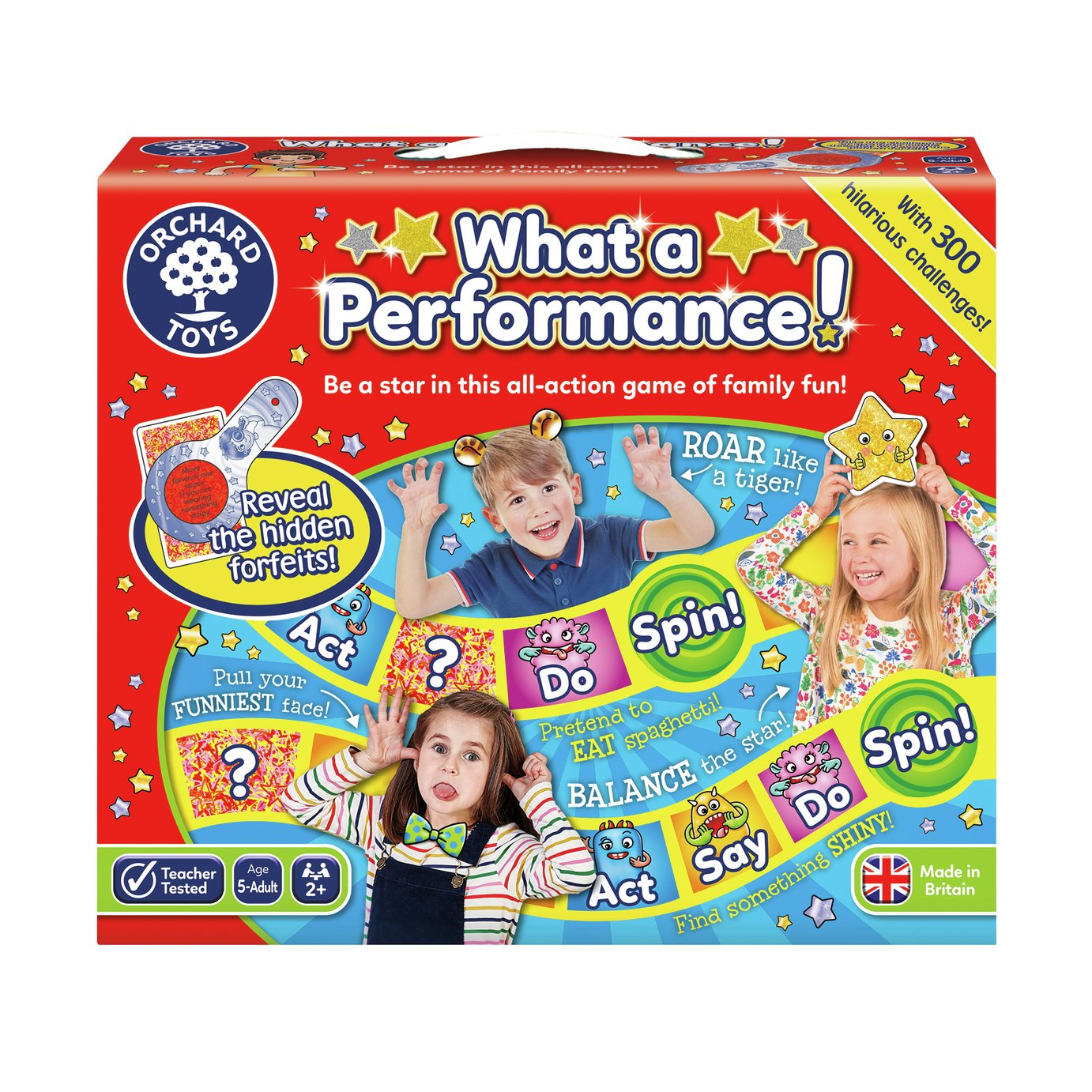 Orchard Toys What A Performance Game
