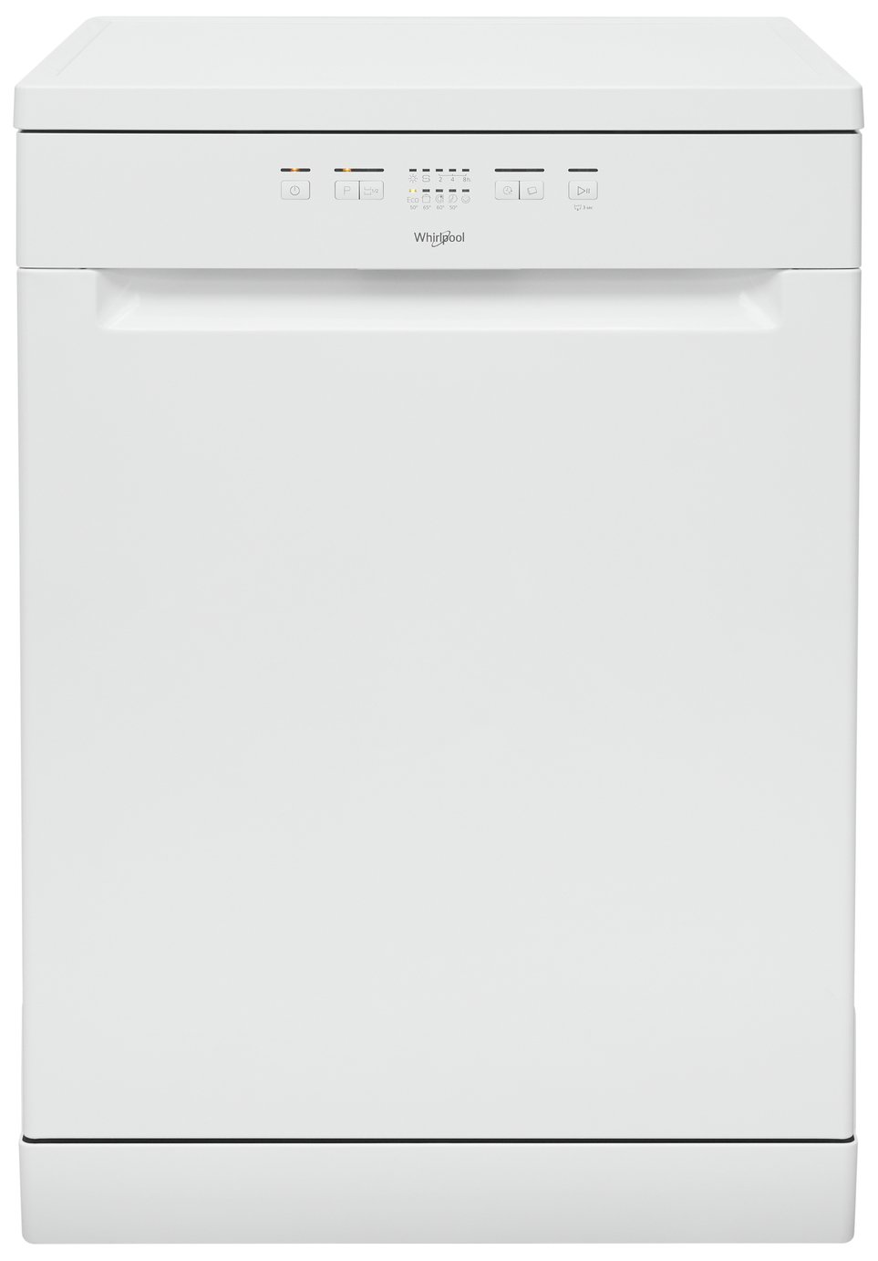 Whirlpool WFE2B19UK Full Size Integrated Dishwasher - White
