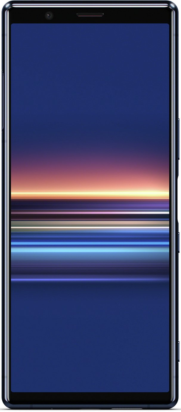 SIM Free Sony Xperia 128GB Mobile Phone - Blue - Pre-order