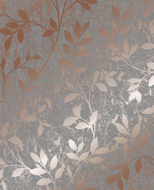 Superfresco Milan Trail Rose Gold Wallpaper