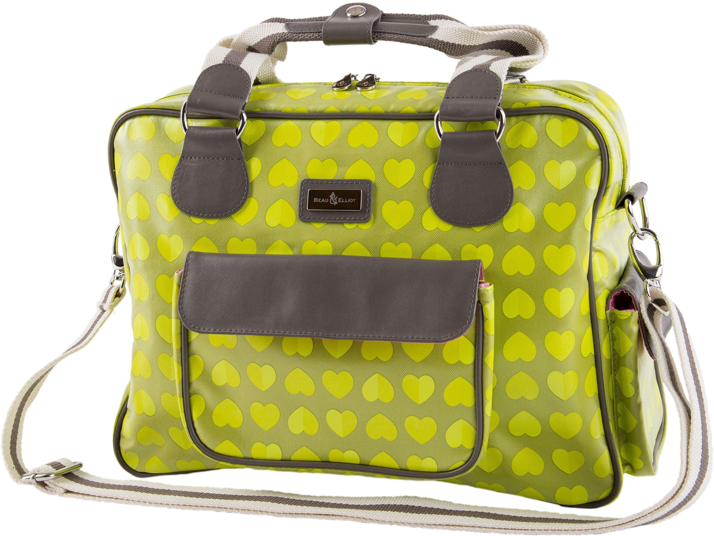 Image of Beau and Elliot Confetti Baby - Changing Bag - Lime