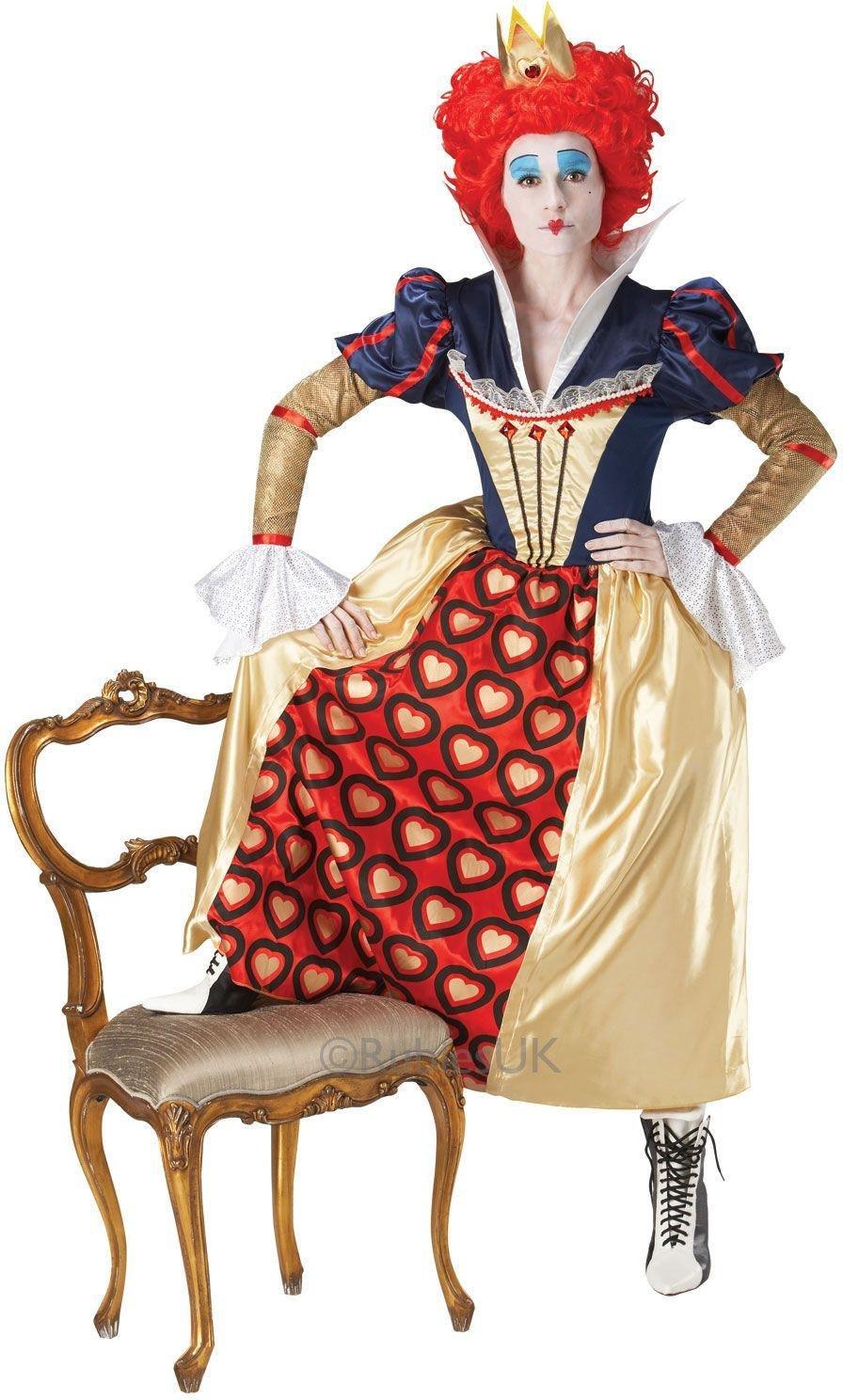 Image of Alice in Wonderland - Red Queen - Costume - Size - 12-14