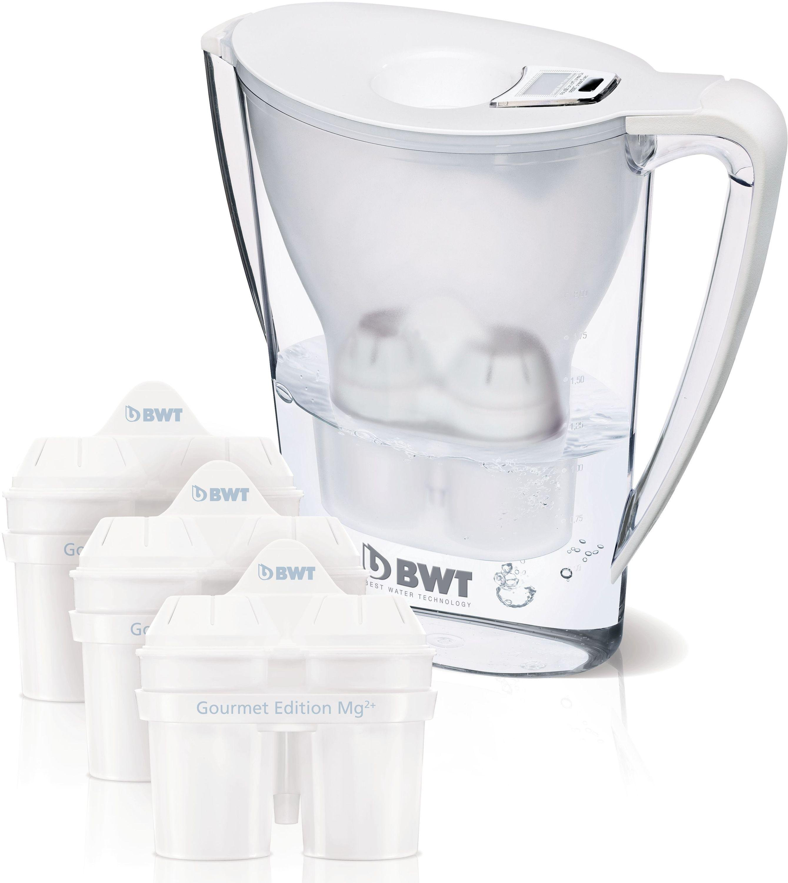 Image of Best Water Technology - 27L Filter Jug Plus Three Cartridges