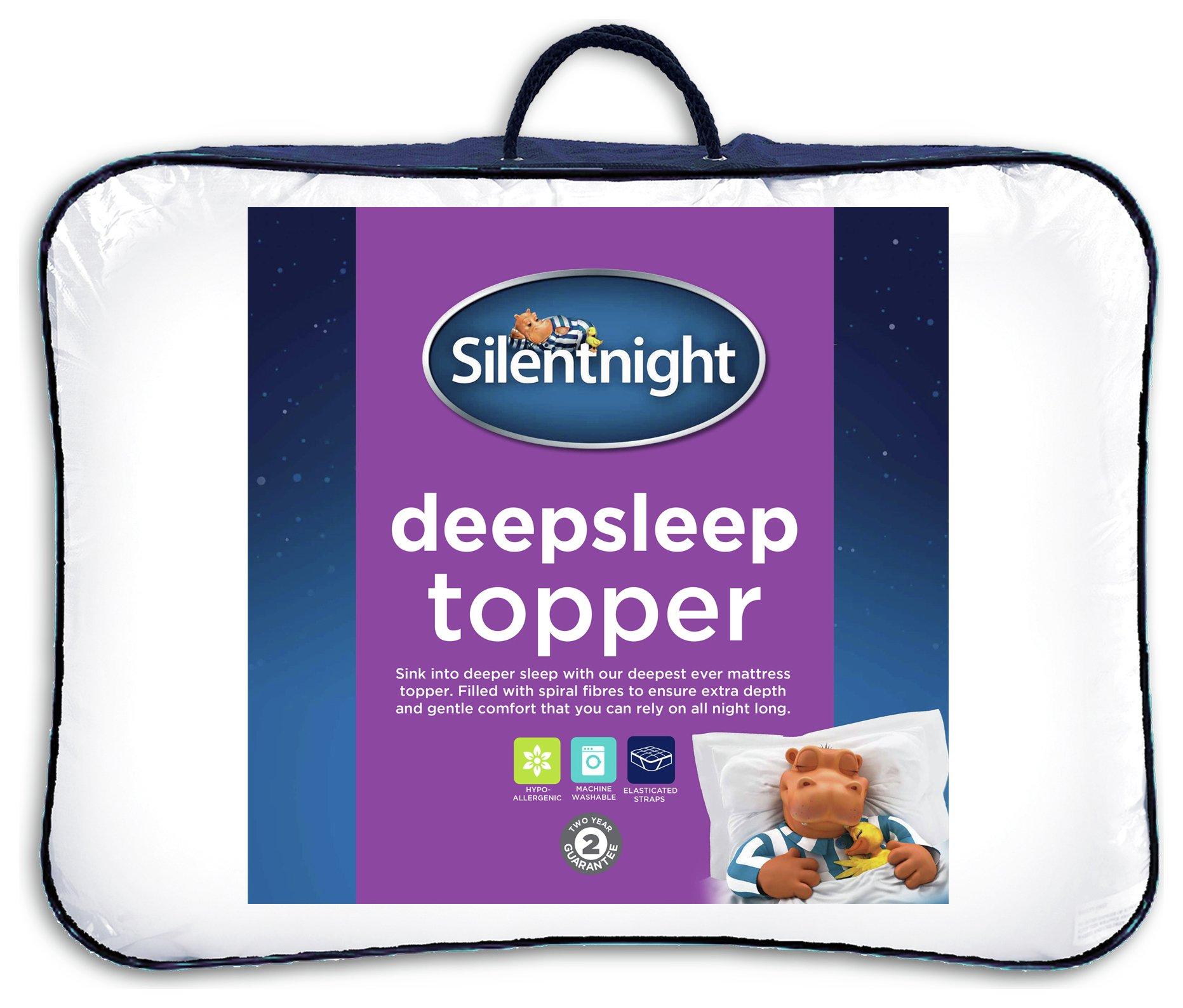 Silentnight Deep Sleep Mattress Topper Single Review