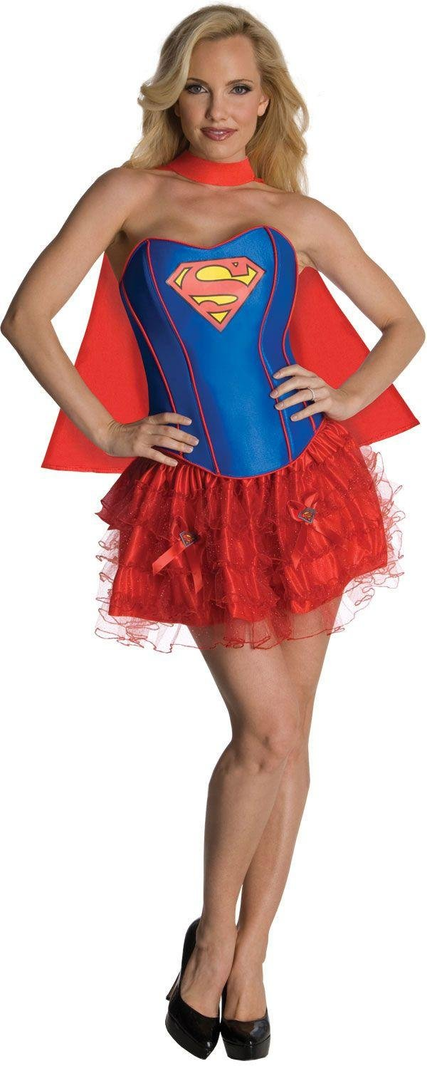 dc-justice-league-supergirl-corset-costume-size-6-8