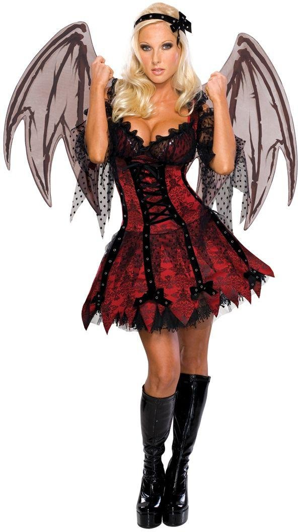 Halloween Vampire Fairy Costume - Size 14-16