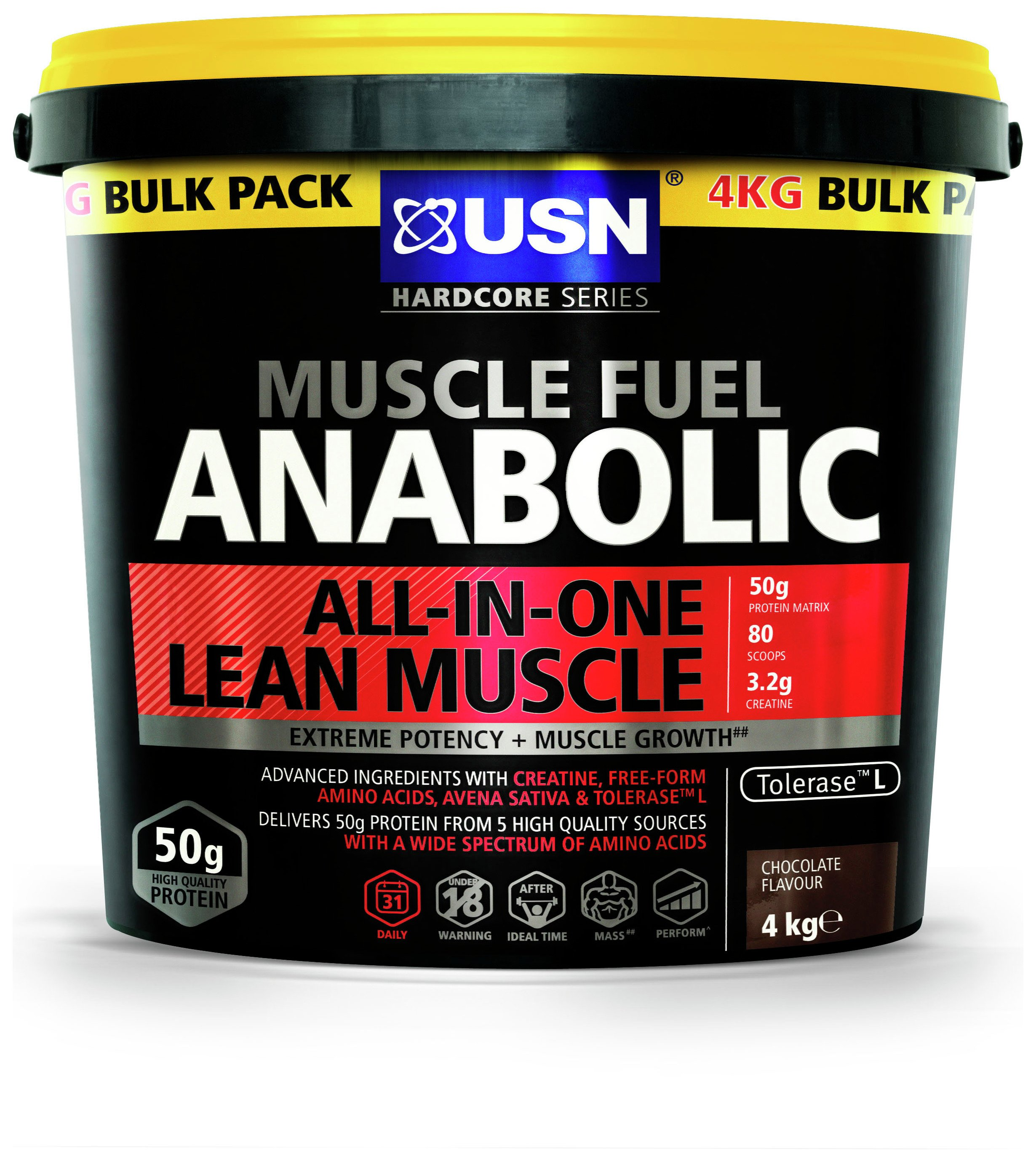 usn anabolic muscle fuel calories