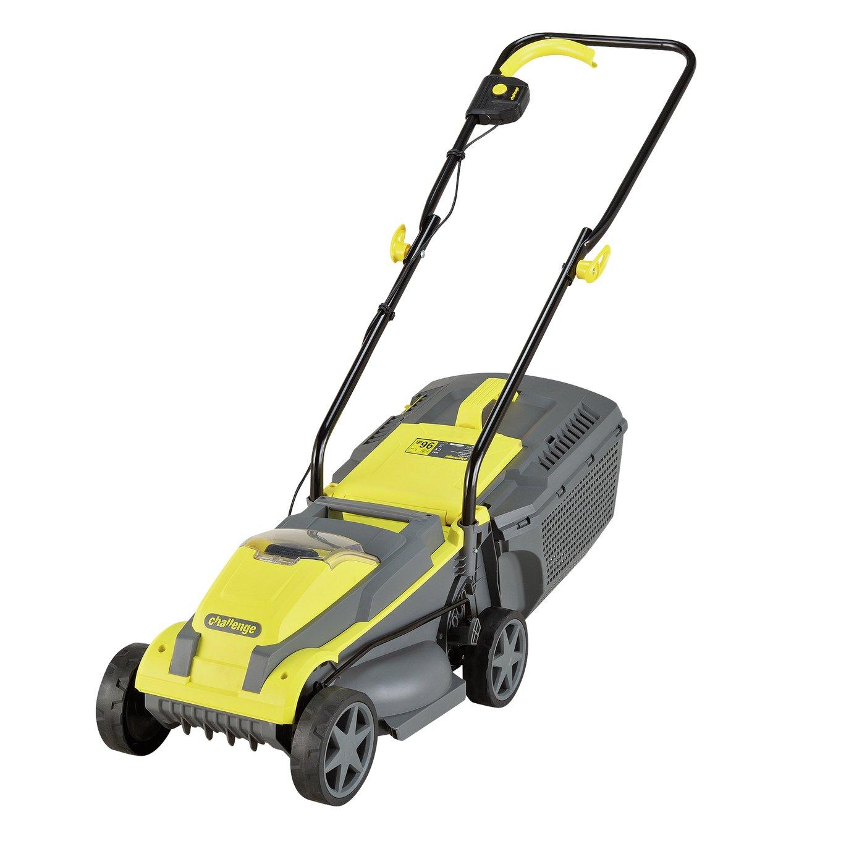Challenge 31cm 4.0Ah Cordless Lawnmower - 18V